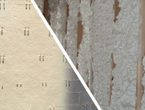 closed-cell vs. open-cell foam insulation